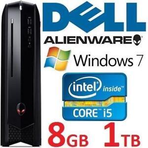REFURB DELL ALIENWARE DESKTOP PC AX51R2-2862BK 132680827 INTEL I5 4440 1TB HDD 8GB RAM WINDOWS 7 GAMING COMPUTER