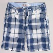 American Eagle Plaid Shorts Men