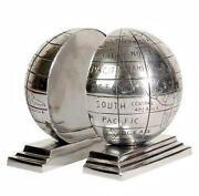 Globe Bookends