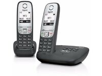 Gigaset A415 cordless twin with answerphone.