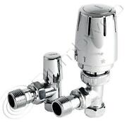 Chrome Thermostatic Radiator Valves