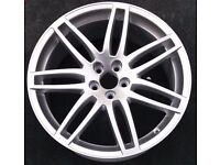 "WANTED 18"" twin spoke alloy 5x100 VW Bora, Golf, Audi"