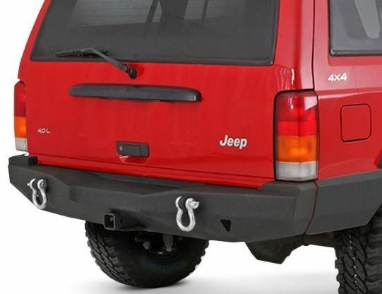 Jeep Cherokee XJ XRC Rear Bumper With Hitch 1984-2001 ...