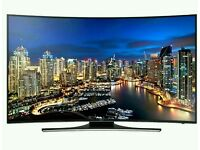 Samsung 55 inch 4k curved smart led TV. UE55HU7200