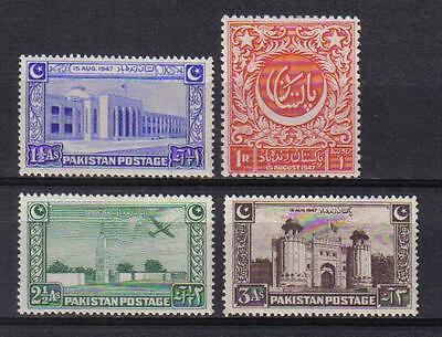 Pakistan 1948 Independence Set Of 4 Scott  20 23 Mnh