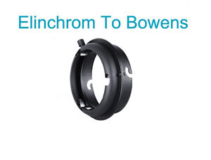 Pro Elinchrom To Bowens interchangeable Mounts Ring Studio Adapter Flash Strobe