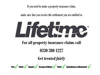 Lifetime Assessors- For when you need to make a home or property insurance claim. Get Treated Fairly