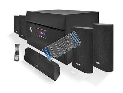 400 Watt 5.1 Channel Home Theater System with AM/FM Tuner, CD, DVD & MP3 Player