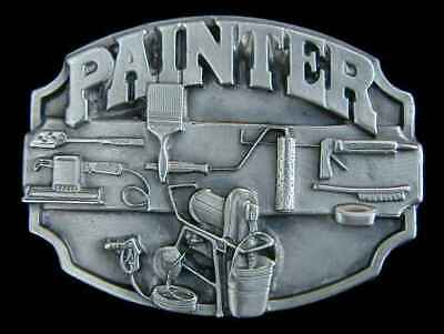 Painter Buckle (PAINTER BELT BUCKLE BUCKLES SOLID PEWTER)