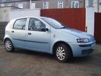 Fiat punto Active 1,2 petrol 2003 5 door-NEW MOT -83kmiles only