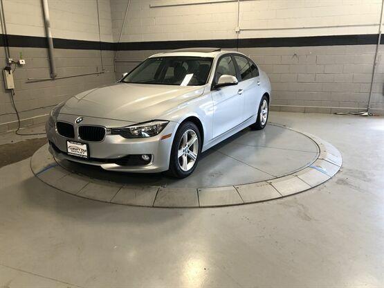2013 BMW 3 Series 328i xDrive AWD 4dr Sedan SULEV Silver Luxury Car Outlet 630-4