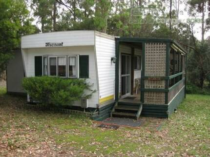 Onsite 40ft Cabin with annexe and veranda Nicholson Nicholson East Gippsland Preview