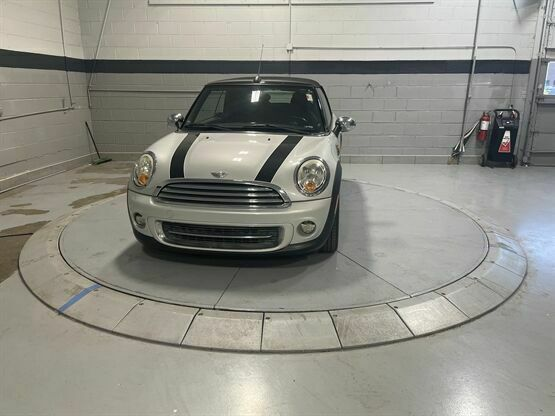 2011 MINI Cooper Base 2dr Convertible Silver Luxury Car Outlet 630-405-1784