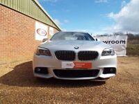BMW 530d MSports Silver 2011 FSH Full Pro Navigation only £13,995