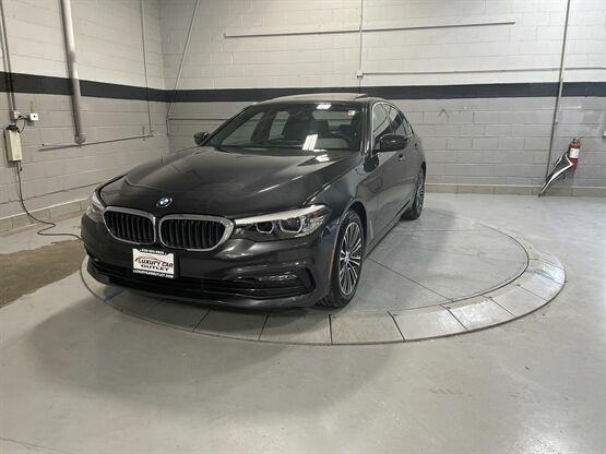 2017 BMW 5 Series 530i xDrive AWD 4dr Sedan Grey Luxury Car Outlet 630-405-1784