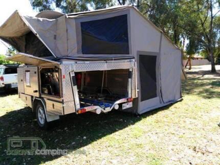 Custom built Trailer and Camper