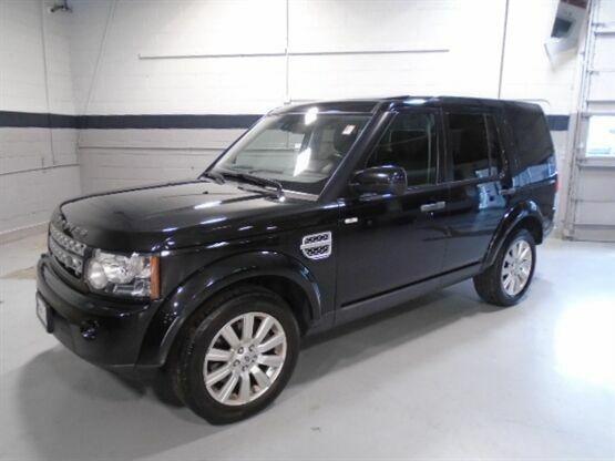 2013 Land Rover LR4 HSE 4x4 4dr SUV Black Luxury Car Outlet 630-405-1784