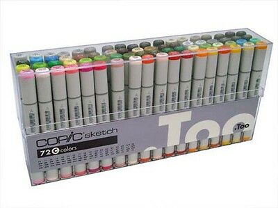 Copic Sketch Marker Set - 72 Pens - Set C (Copic Marker Sketch Set E)