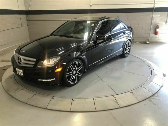 2013 Mercedes-Benz C-Class 300 4MATIC Sport Black Luxury Car Outlet 630-405-1784