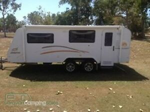 Jayco Discovery 2012 poptop Midge Point Mackay Surrounds Preview