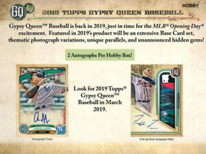 2019 Topps Gypsy Queen Baseball Available March 27th