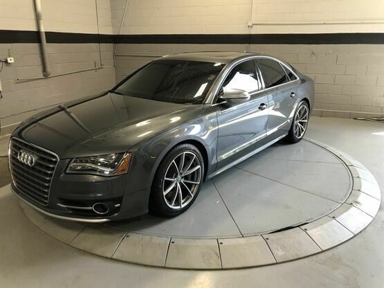 2013 Audi S8 4.0T quattro AWD 4dr Sedan Grey Luxury Car Outlet 630-405-1784