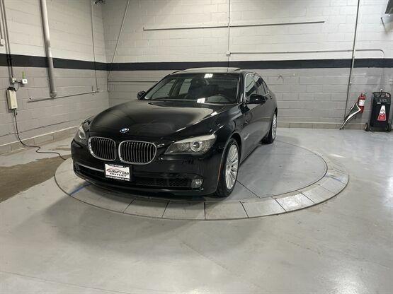 2012 BMW 7 Series 750i xDrive AWD 4dr Sedan Black Luxury Car Outlet 630-405-1784