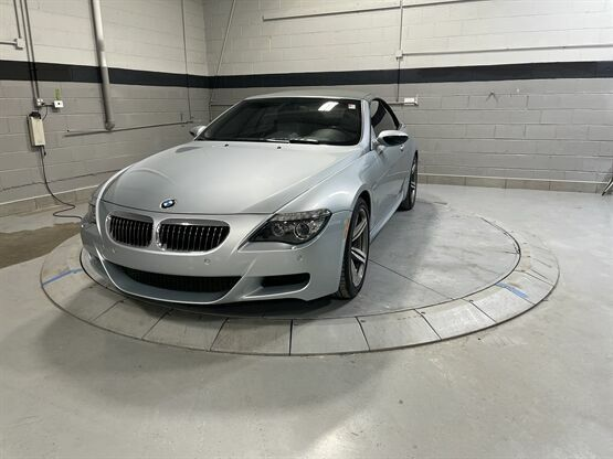 2008 BMW M6 Base 2dr Convertible Silver Luxury Car Outlet 630-405-1784