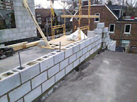 Do you need block work ,fire walls