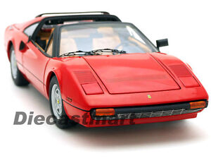 HOTWHEELS-ELITE-P9908-1-18-MAGNUM-PI-FERRARI-308-GTS-RED-TOM-SELLECK