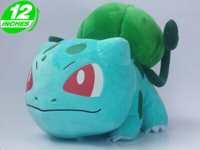 "12"" large POKEMON BULBASAUR Detective Pikachu Plush TOY"