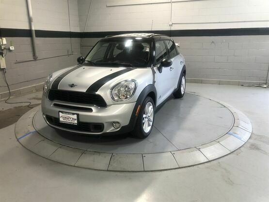 2012 MINI Cooper Countryman S ALL4 AWD 4dr Crossover White Luxury Car Outlet 630