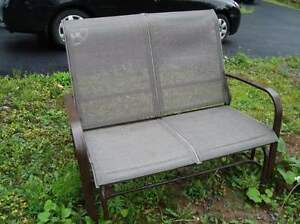 Outdoor Two Seater Lawn Glider $60