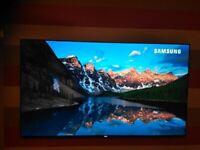 Superb Samsung UHD 65inch 4K TV Warranty till April 2022 drop down HDMI box £120 mount, Cost £1,900!