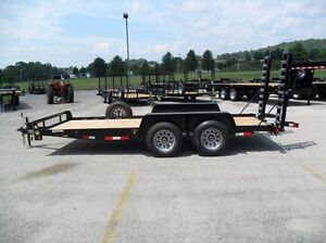 18' 10,400 lb. Gatormade Equipment Trailer