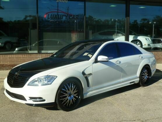 2007 Mercedes-Benz S-Class S 550 4MATIC AWD 4dr Sedan White Luxury Car Outlet 63