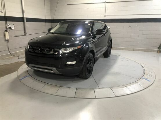 2013 Land Rover Range Rover Evoque Coupe Pure Plus AWD 2dr SUV Black Luxury Car