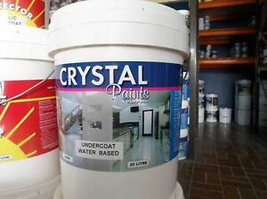 UNERCOAT 5 X 20 LITRE WATER BASED WHITE THIS SATURDAY & SUN ONLY Underwood Logan Area Preview