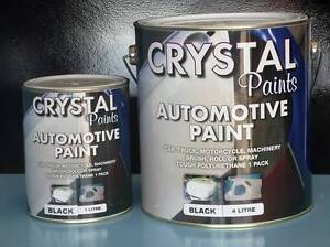 TRUCK PAINT 4 LITRE BLACK, BLUE , WHITE , RED GOLDEN YELLOW, South Kempsey Kempsey Area Preview