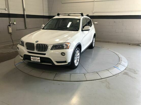 2014 BMW X3 xDrive28i AWD 4dr SUV White Luxury Car Outlet 630-405-1784