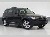 PERFECT 4X4 (2005) BMW X3 2.0 SPORT - 18 INCH ALLOYS -LONG MOT - FULLY LOADED