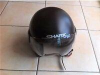 Open faced helmet, Shark