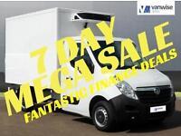 2015 Vauxhall Movano F3500 L2H1 C/C CDTI Diesel white Manual
