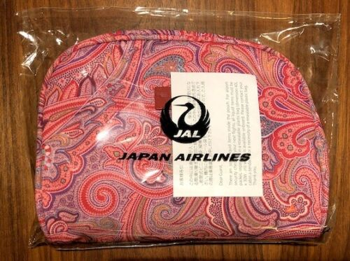 🌟 BRAND NEW SEALED 2019 JAL FIRST CLASS ETRO AMENITY KIT JAPAN AIRLINES