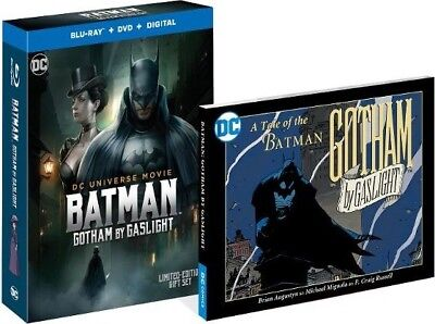 BATMAN: GOTHAM BY GASLIGHT BEST BUY EXCLUSIVE BLU-RAY (GRAPHIC NOVEL+DIGITAL)