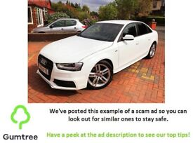 Audi A4 2.0 TDI S Line 4dr -- Read the description before replying to the ad!!