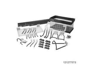 KOBALT 32-Piece K-Rail and Hook Wall Storage Kit
