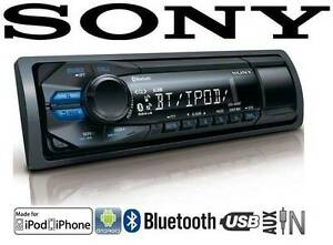 SONY BLUETOOTH AUX USB MP3 SINGLE DIN RADIO STEREO Glen Waverley Monash Area Preview