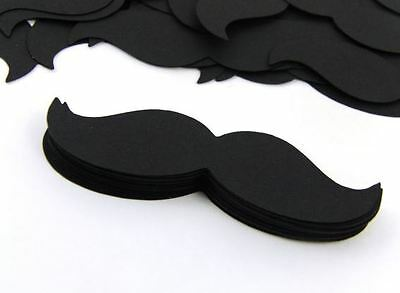 Hand Crafted 50 - 3 inch Mustaches Gender reveal Little Man