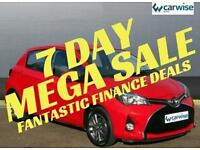 2014 Toyota Yaris VVT-I ICON Petrol red Manual